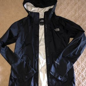 Black North Face Rain jacket